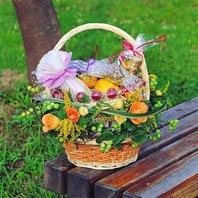 한아름과일꽃바구니