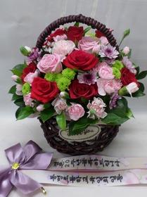 장미혼합꽃바구니kl2