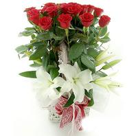 장미카사꽃바구니
